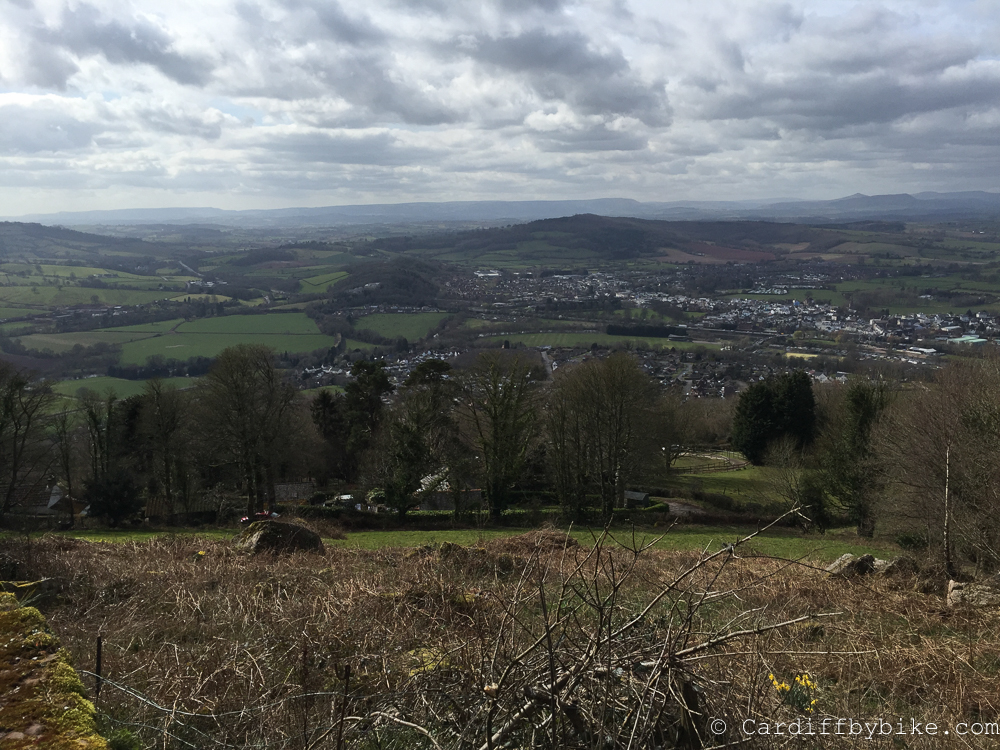 View from the Kymin