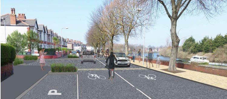 Taff Embankment - Pre consultation